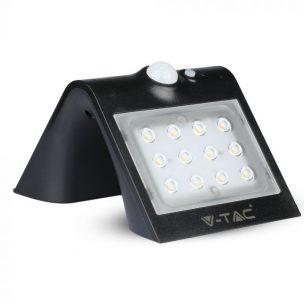 1.5W LED Solar Wall Light 4000K 4000K Black Black Body