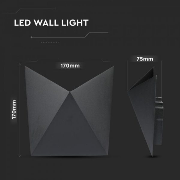 5W LED Modern Wall Light IP65