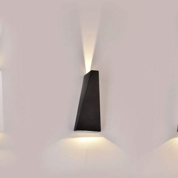 6W LED Triangle Wall Light IP65