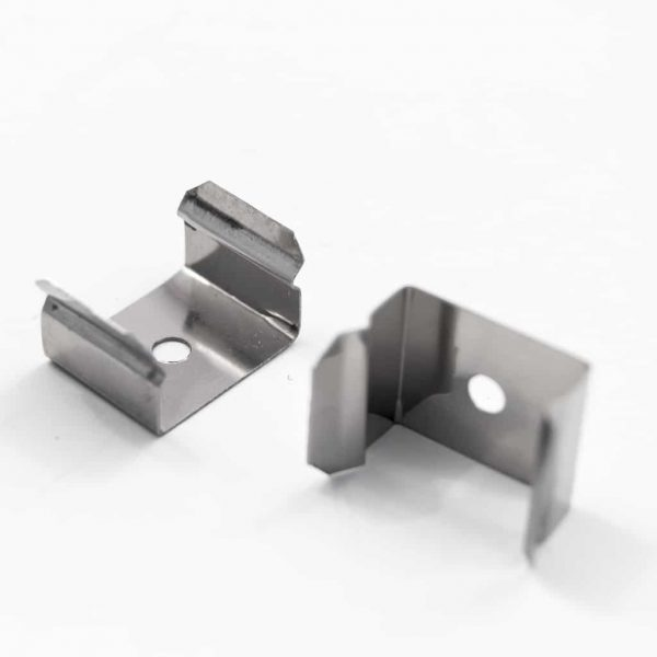 Stainless Steel Mounting Plate for Aluminium Profiles 18mm