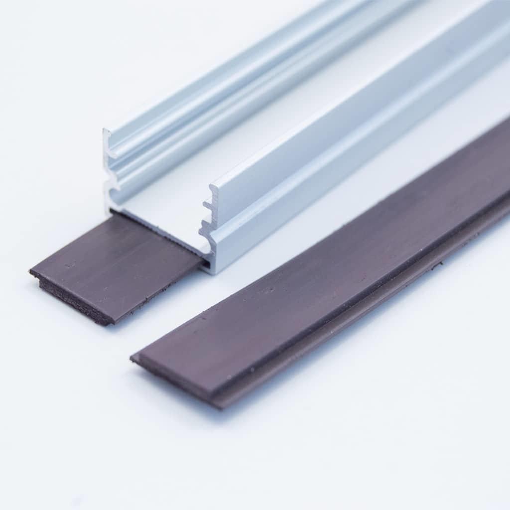 Magnet Strip Black for LED Profile (metre)