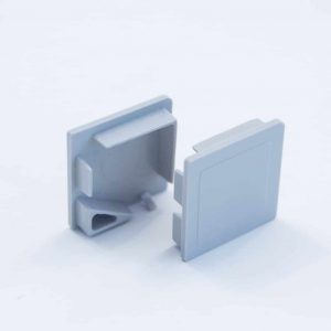 Plastic End Cap Grey for Corner Profile 20*20mm