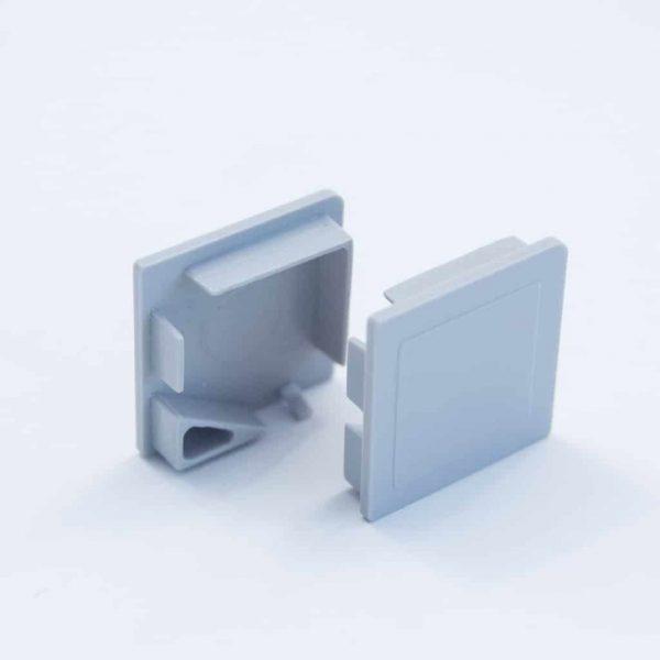 Plastic End Cap Grey for Corner Profile 20*20mm