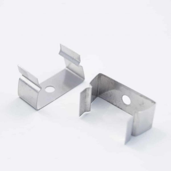 Stainless Steel metal clip holder for YA045 profile