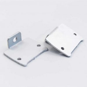 Aluminium Profile Mat Anodize for surface Profile with Flat Diffuser