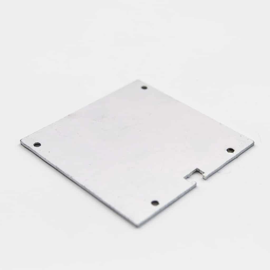 Aluminium End Cap 60 x 60mm