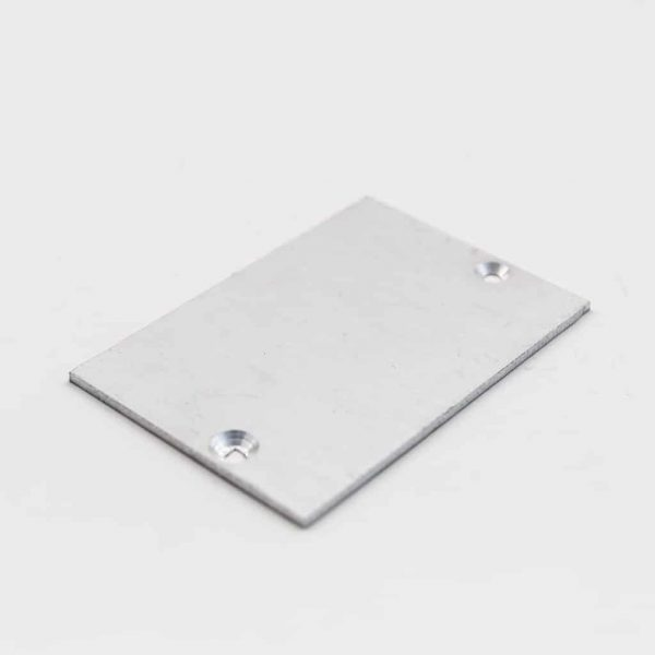 Aluminium End Cap 44.5 x 64.5mm