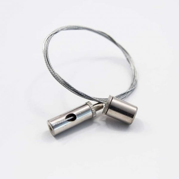 Metal Hang Wire Silver 1.5m