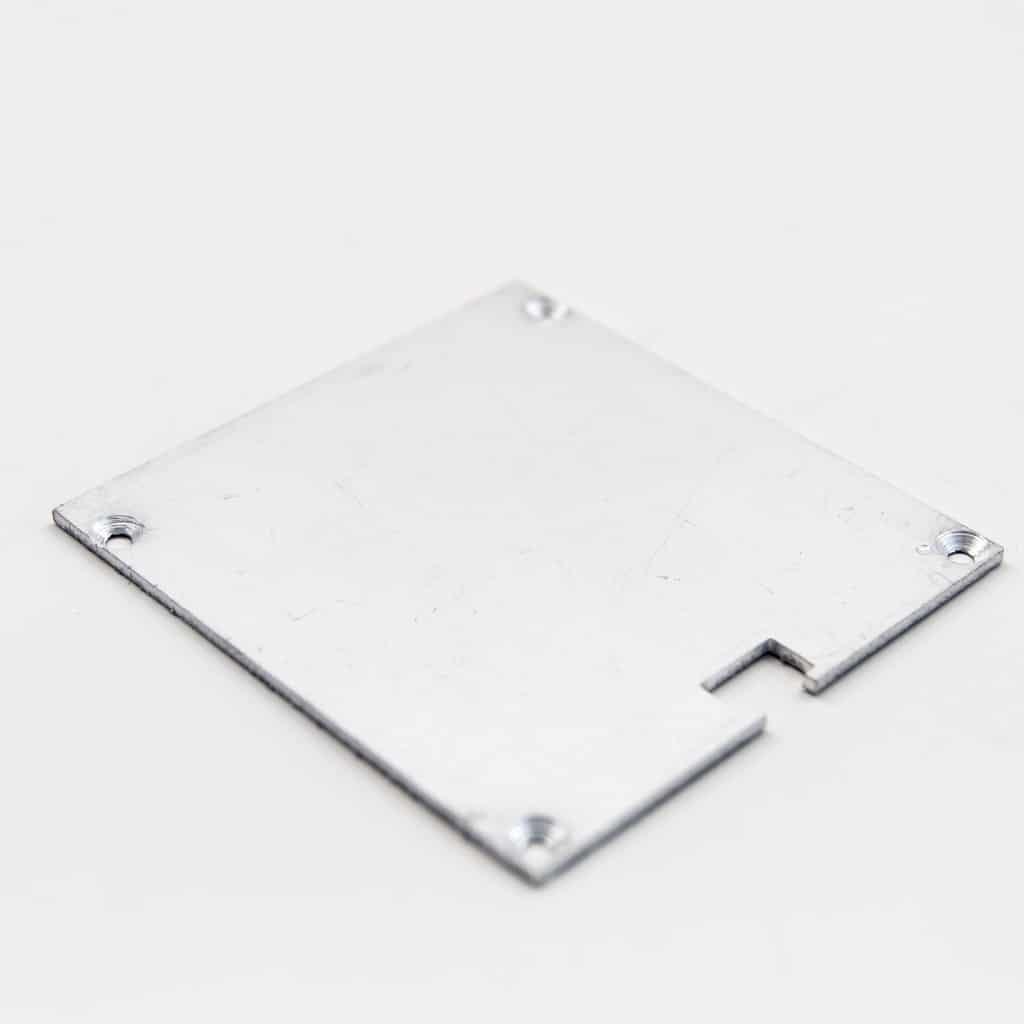 Aluminium End Capd 60 x 65mm