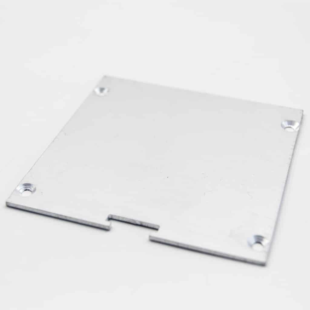 Aluminium End Cap 85 x 85mm