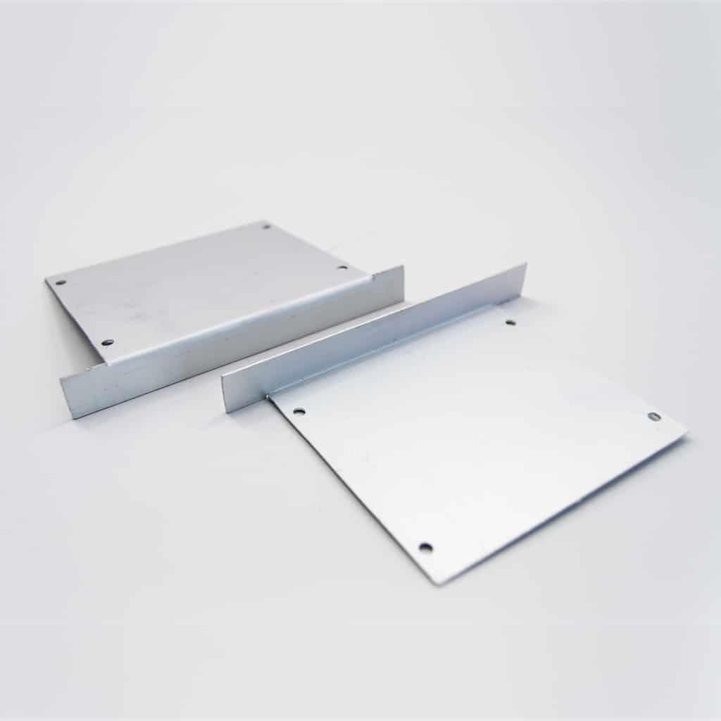 Aluminium End Cap for recessed profile 85 x 75mm