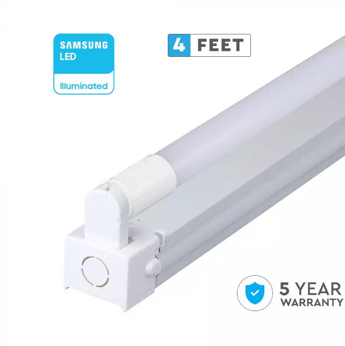 LED Single Batten  Fitting SAMSUNG CHIP -120CM 18W