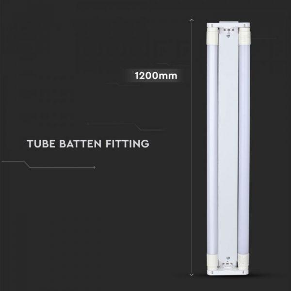 LED Double Batten Fitting 120cm 36W Samsung Chip
