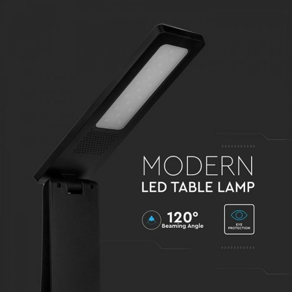 4W LED Table Lamp Black