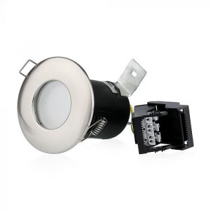 gu10 shower fire-rated downlight