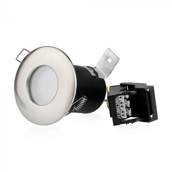 gu10 shower fire-rated downlight