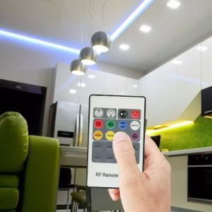 LED RGB Controller with 20 Key RF Remote Control