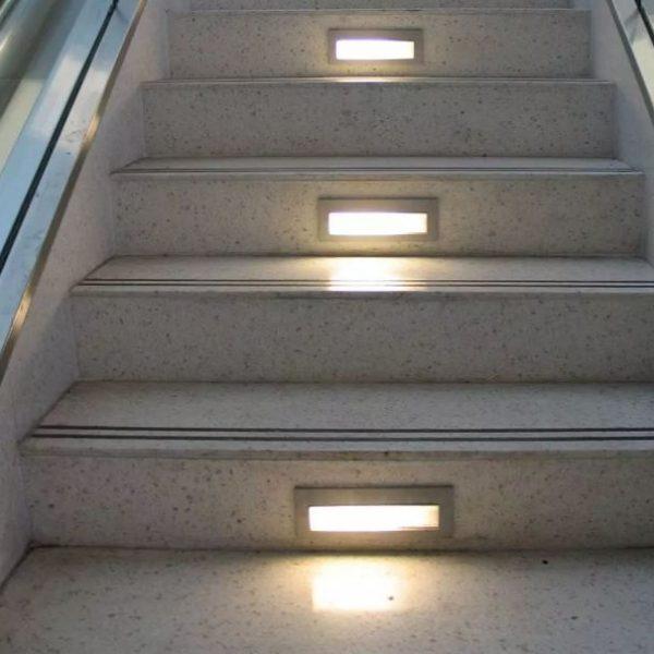 6W Led Rectangular Step Light IP54