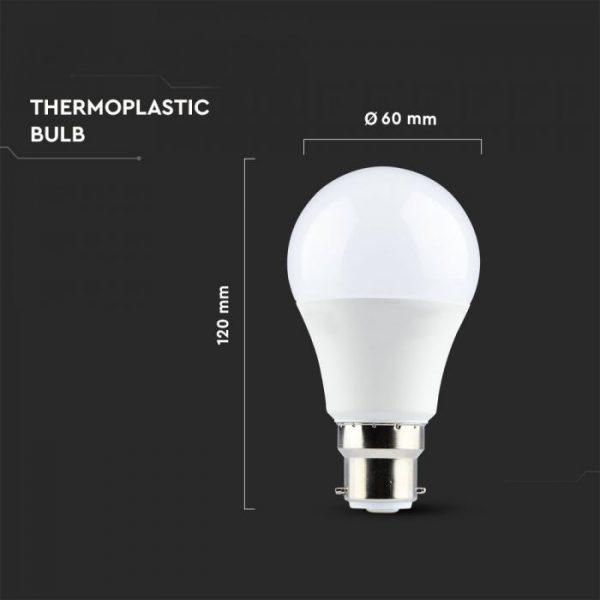 11W A60 Led Bulb B22 Samsung Chip