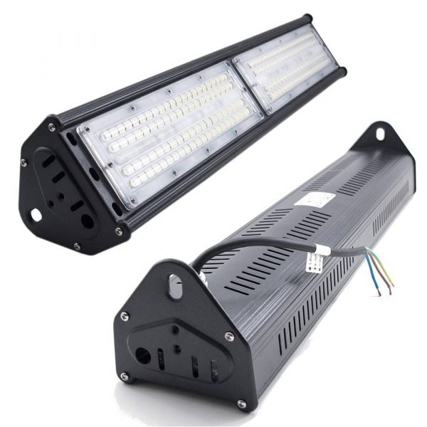 100W LED Linear High Bay Black Body