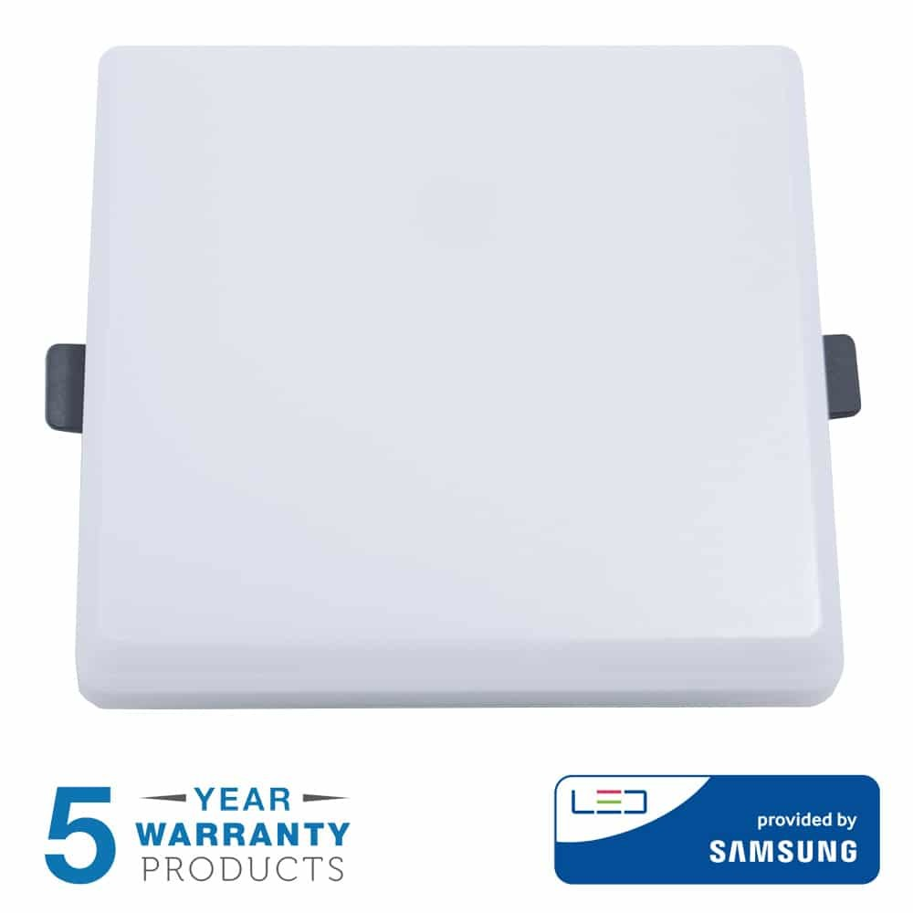 8W LED Mini Panel - Square - SAMSUNG CHIP - 5 Years Warranty