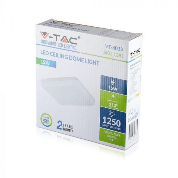 15W LED Ceiling Bulkhead Light Square/ Round