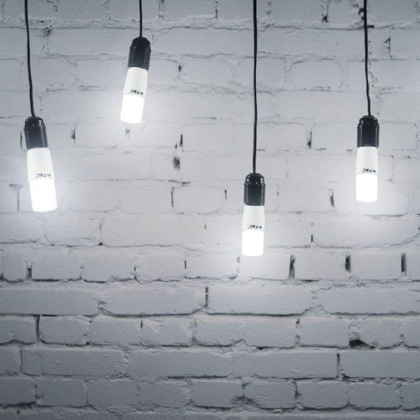 8W T37 LED Plastic Bulb E27