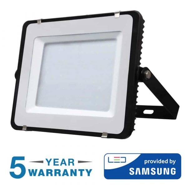 200W LED Floodlight Black Body. Outdoor High Power