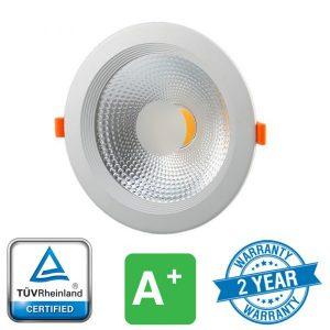 15W LED Reflector COB Downlight High Lumen