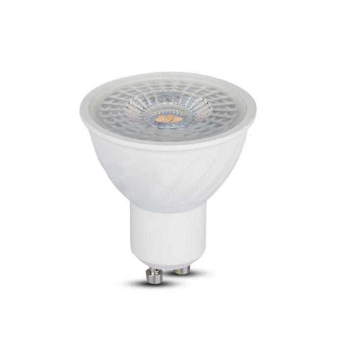6.5W GU10 Ripple Plastic Spotlight 110°