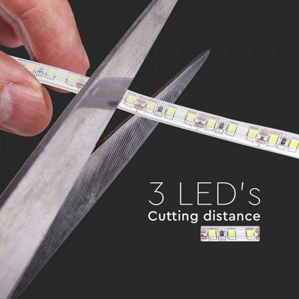 7.2W LED Strip 120 LED's IP65 12V - 5m Reel SMD3528