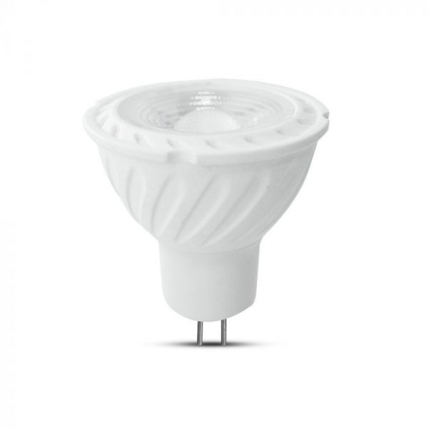 6.5W MR16 RIPPLE PLASTIC SPOTLIGHT