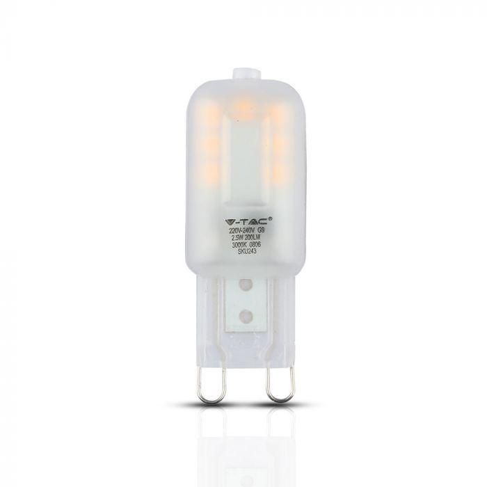 2.5W G9 LED Plastic Capsule Bulb