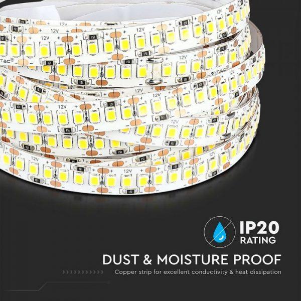 18W LED Strip 204 LED's IP20 12V - 5m Reel SMD2835