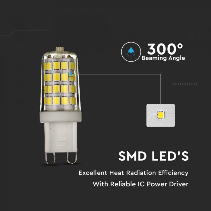 3W G9 LED Plastic Capsule Bulb