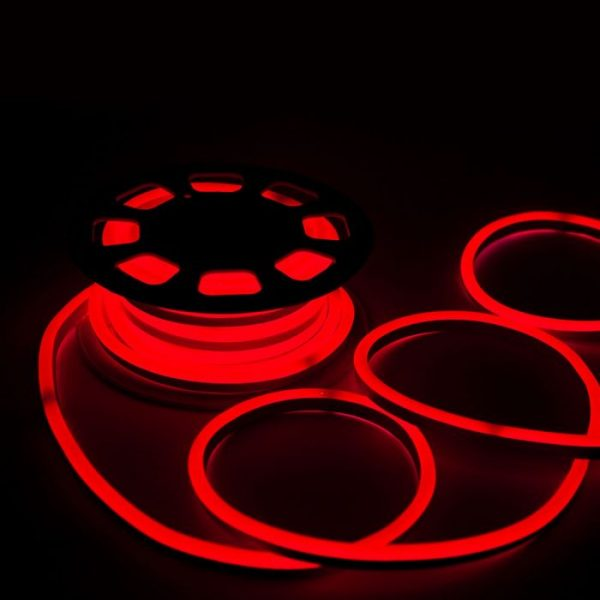 LED NEON FLEX 8W/m 24V DC IP65 All Colours (by meter)