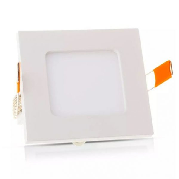 6W LED Recessed Panel Square with Driver