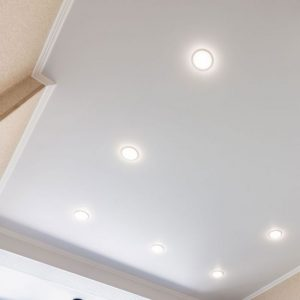 8W LED Trimless Panel Round