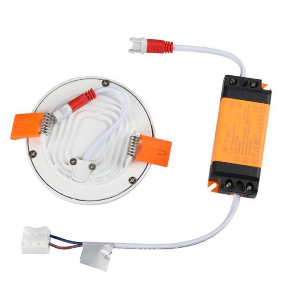 8W LED Trimless Panel - Round