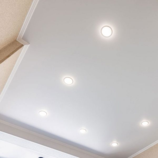 22W LED Trimless Panel Round