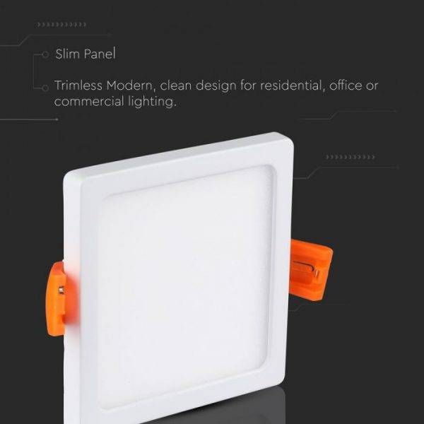 29W LED Trimless Panel Square