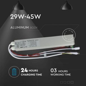 Battery for led panel