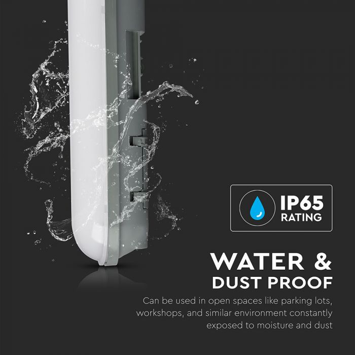 waterproof led fitting