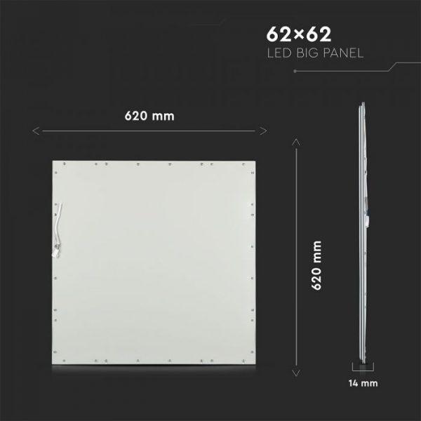 45W LED Panel  620x620  UGR19