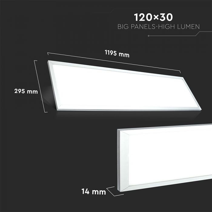 LED panel 1x4ft