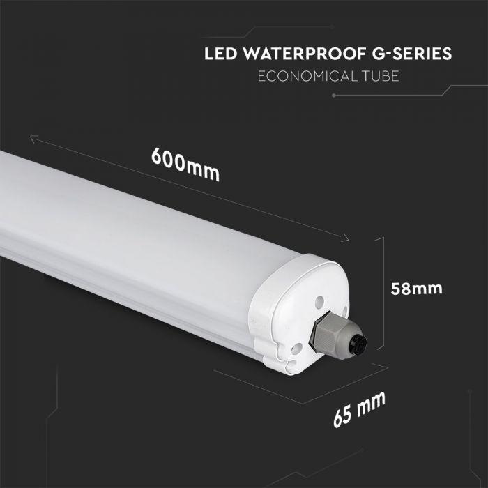 LED Waterproof Lamp G-SERIES 600mm 18W