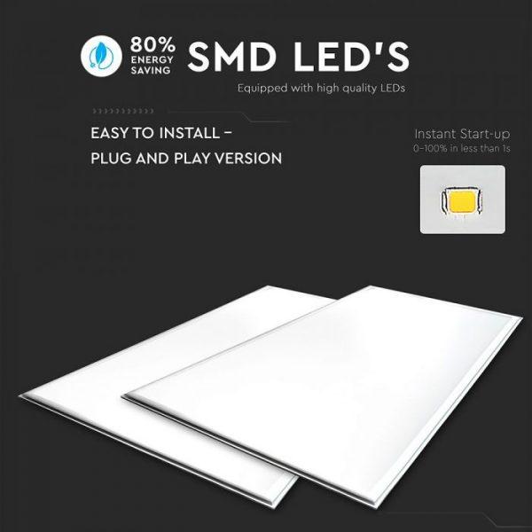 45W LED Panel 1200x600mm - High Lumen A