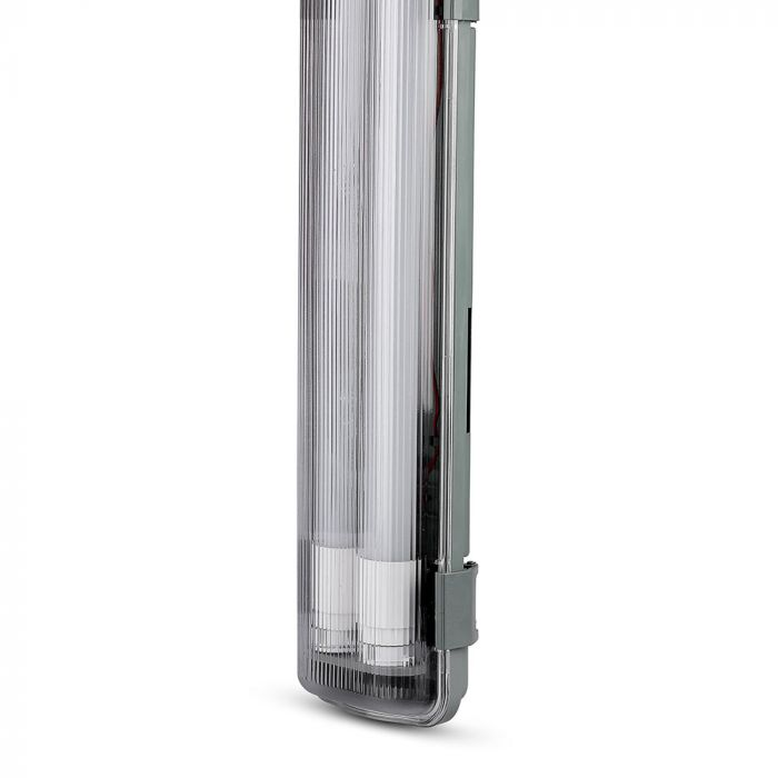5 Feet Waterproof Fitting with 2 LED Tubes 2x22W IP65 (150cm)