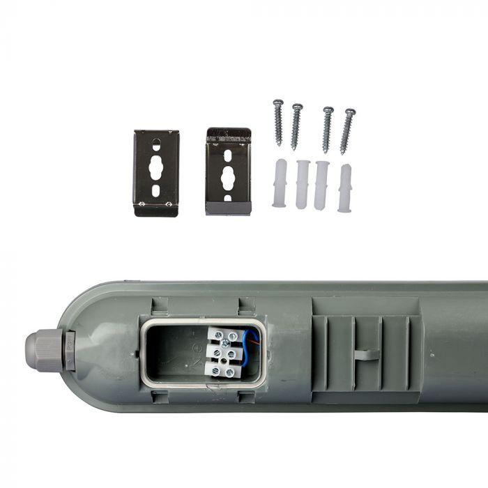 Waterproof LED Tube with Emergency Kit -120cm