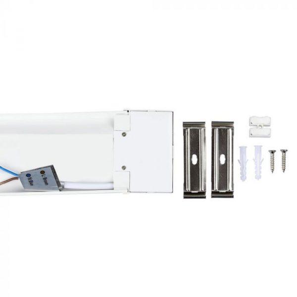 40W LED Batten Fitting 4ft. (120cm) Slim, SAMSUNG Chip - Prismatic